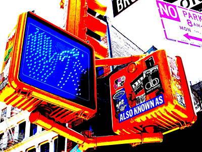 New York Street Mess Poster