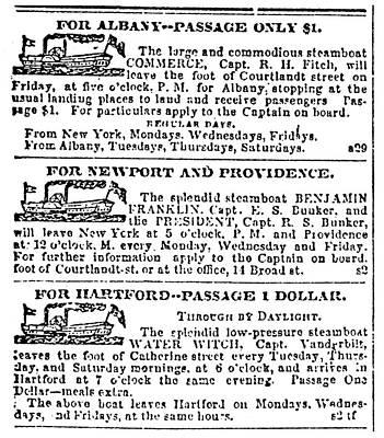 New York Sun, 1833 Poster by Granger