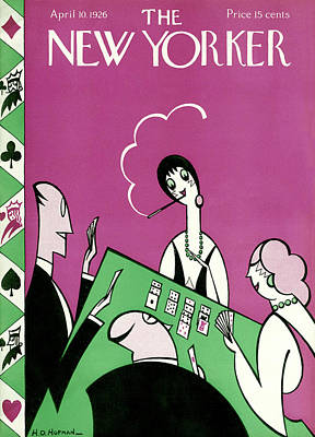 New Yorker April 10th, 1926 Poster by H.O. Hofman