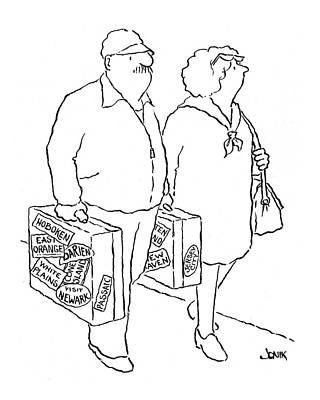 New Yorker April 12th, 1976 Poster by John Jonik