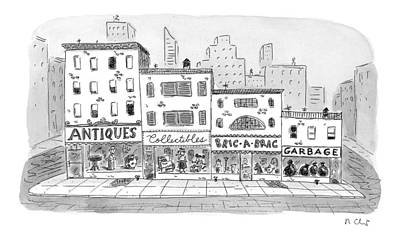 New Yorker April 20th, 1998 Poster by Roz Chast