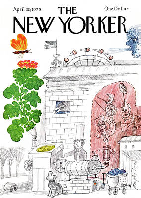 New Yorker April 30th, 1979 Poster