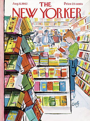 New Yorker August 11th, 1962 Poster