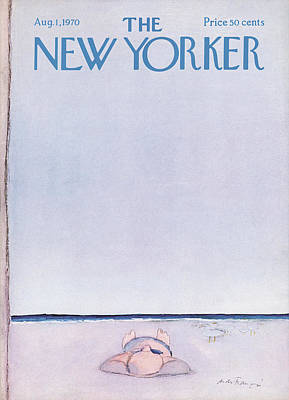 New Yorker August 1st, 1970 Poster by Andre Francois