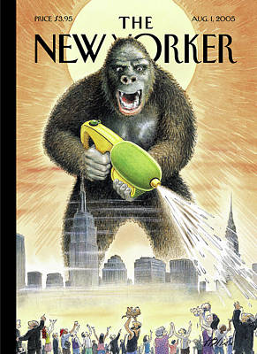 New Yorker August 1st, 2005 Poster