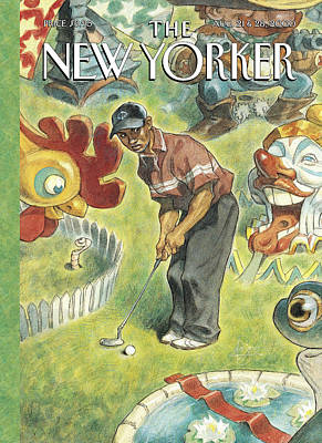 New Yorker August 21st, 2000 Poster