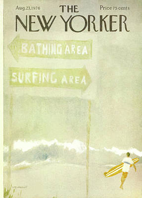 New Yorker August 23rd, 1976 Poster