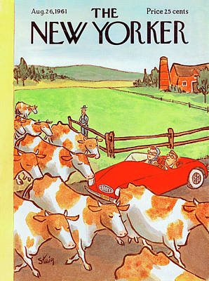 New Yorker August 26th, 1961 Poster