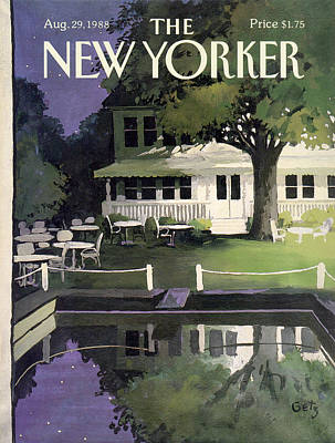 New Yorker August 29th, 1988 Poster