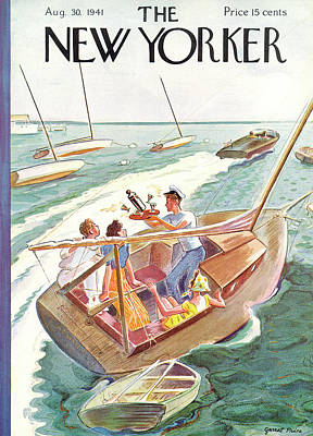 New Yorker August 30th, 1941 Poster