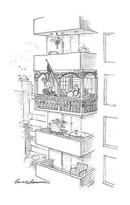 New Yorker August 3rd, 1987 Poster by Bernard Schoenbaum