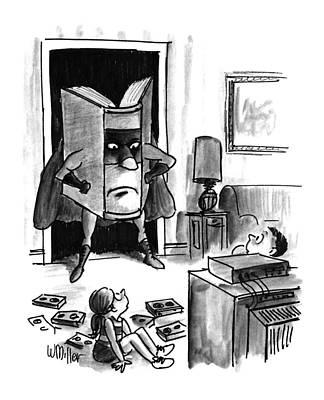 New Yorker August 3rd, 1992 Poster by Warren Miller