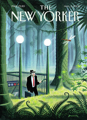 New Yorker August 5th, 2002 Poster by Eric Drooker