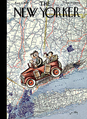 New Yorker August 7th, 1937 Poster