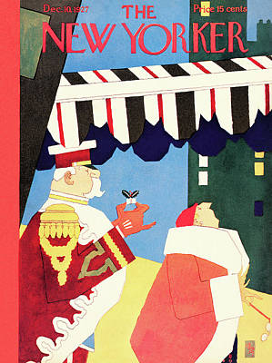 New Yorker December 10th, 1927 Poster by Gardner Rea