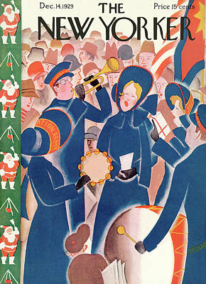 New Yorker December 14th, 1929 Poster by Theodore G. Haupt