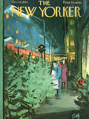 New Yorker December 14th, 1963 Poster by Arthur Getz
