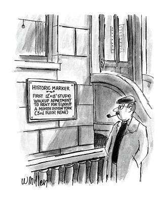 New Yorker December 14th, 1987 Poster by Warren Miller