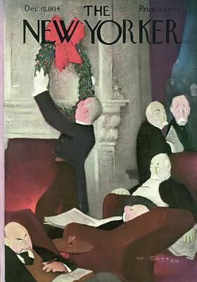 New Yorker December 15th, 1934 Poster