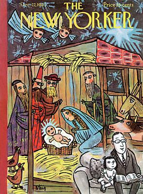 New Yorker December 22nd, 1962 Poster