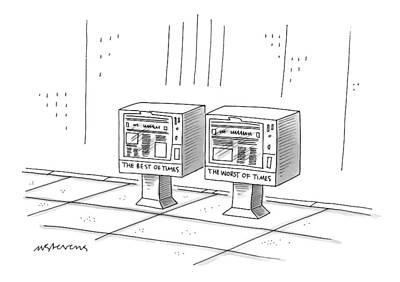 New Yorker December 22nd, 1997 Poster by Mick Stevens