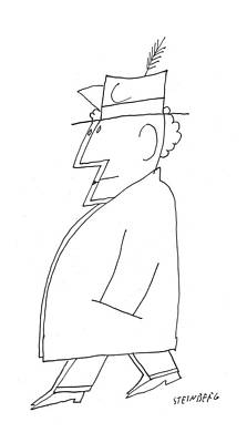 New Yorker December 24th, 1955 Poster by Saul Steinberg