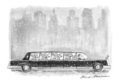 New Yorker December 27th, 1993 Poster by Bernard Schoenbaum