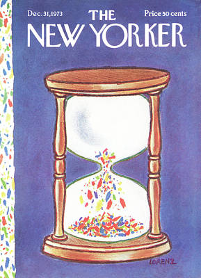 New Yorker December 31st, 1973 Poster by Lee Lorenz