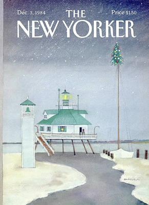 New Yorker December 3rd, 1984 Poster