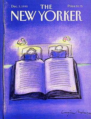 New Yorker December 3rd, 1990 Poster by Eugene Mihaesco