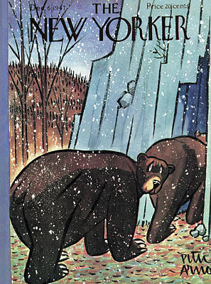 New Yorker December 6th, 1947 Poster