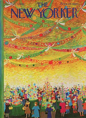 New Yorker December 7th, 1963 Poster by Ilonka Karasz