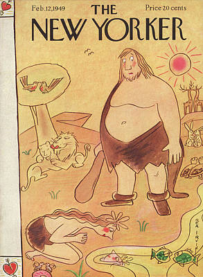 New Yorker February 12th, 1949 Poster