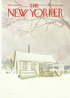 New Yorker February 15th, 1969 Poster by James Stevenson