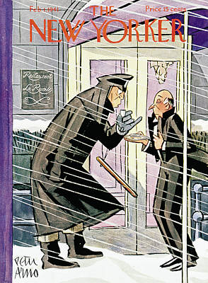 New Yorker February 1st, 1941 Poster by Peter Arno