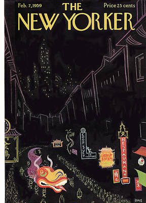 New Yorker February 7th, 1959 Poster