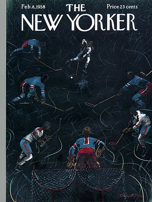 New Yorker February 8th, 1958 Poster by Garrett Price