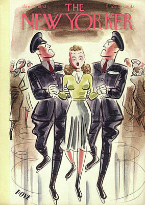 New Yorker January 10th, 1942 Poster by Leonard Dove