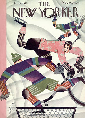 New Yorker January 15th, 1927 Poster