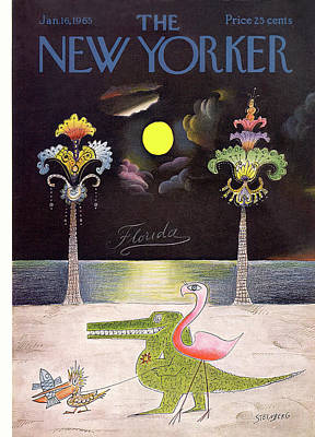 New Yorker January 16th, 1965 Poster
