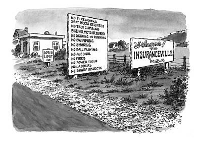 New Yorker January 25th, 1999 Poster by John Jonik