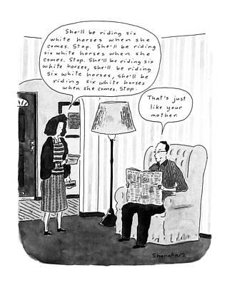 New Yorker January 28th, 1991 Poster