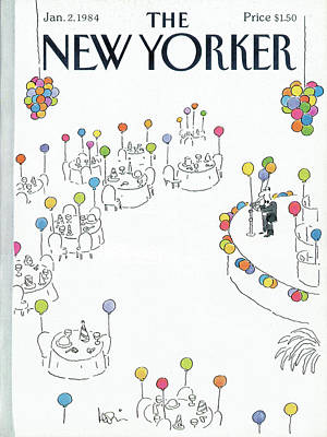 New Yorker January 2nd, 1984 Poster