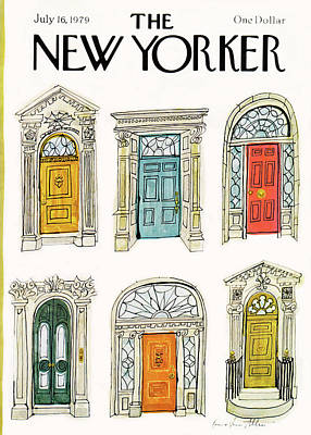 New Yorker July 16th, 1979 Poster