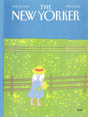 New Yorker July 29th, 1985 Poster by Heidi Goennel