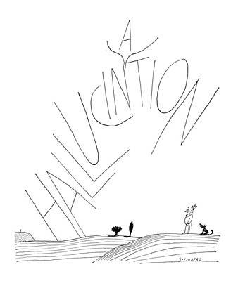 New Yorker July 30th, 1966 Poster by Saul Steinberg