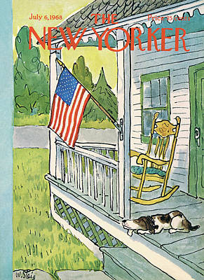 New Yorker July 6th, 1968 Poster by William Steig