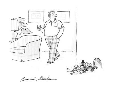 New Yorker July 6th, 1987 Poster by Bernard Schoenbaum