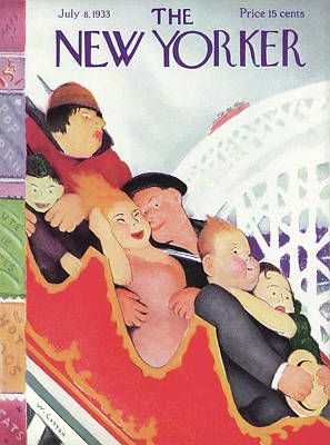 New Yorker July 8th, 1933 Poster