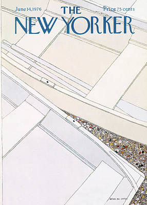 New Yorker June 14th, 1976 Poster by Gretchen Dow Simpson